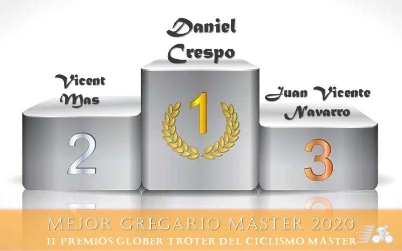 Premio y finalistas al Mejor Gregario Máster 2020