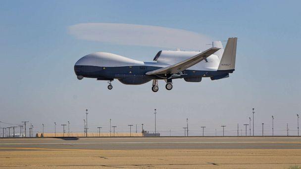 Nóng: Iran Bắn rơi máy bay giám sát Không người lái MQ-4C Triton của Hải Quân Hoa Kỳ