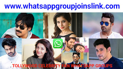 Tollywood Celebrity Fans WhatsApp Group Joins Link