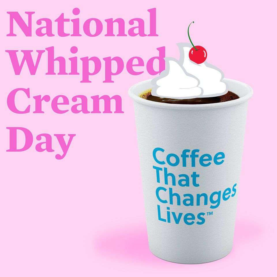 National Whipped Cream Day Wishes for Instagram