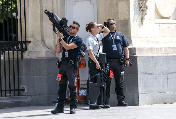 Anti-Drone Weapons Seen Protecting Biden in Brussels