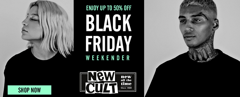 New Cult - Black Friday Προσφορές