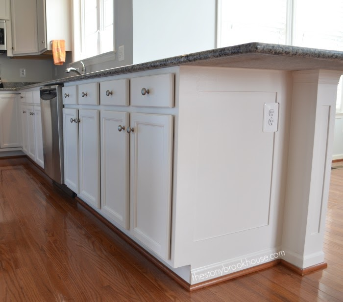 Painted Kitchen Base cabinets