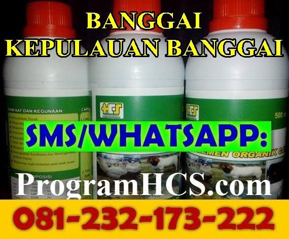 Jual SOC HCS Banggai Kepulauan Banggai