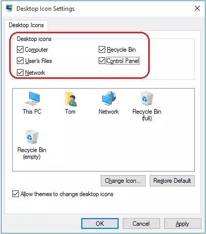 Cara Mengatasi Icon Desktop Tidak Muncul di Windows 10-3