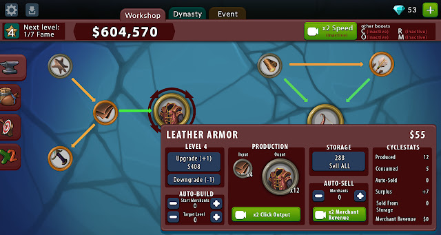 Crafting Idle Clicker v4.2.1 MOD Update