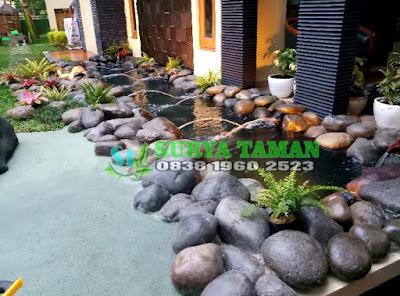 Kolam Batu Alam - Tukang Rumput Bogor