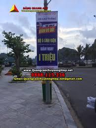 Treo banner giá rẻ tại Hà nội