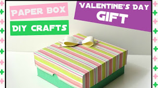 Paper GIft Box - DIY Paper Crafts