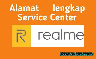 Alamat lengkap service center realme