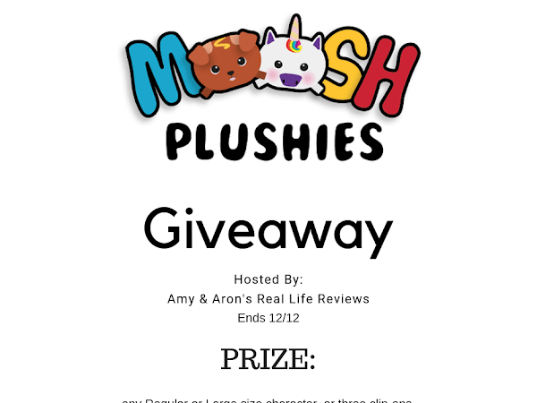 Moosh Moosh Giveaway ~ Ends 12/12 ~ Winners Choice