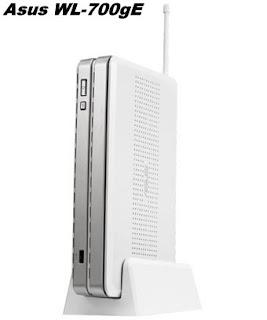 Asus WL-700gE: Media Penyimpanan Nirkabel dan Router Serbaguna