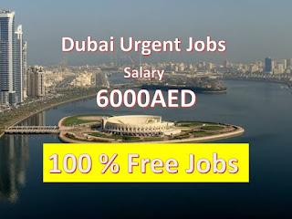 Jobs iN Dubai For Indians, Dubai JObs with Visa
