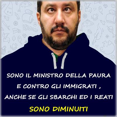 Crediamo che la misura sia definitivamente colma, chiediamo perciò ai deputati e ai senatori della Repubblica di presentare e votare in Parlamento una mozione di sfiducia individuale nei confronti del ministro dell'Interno Matteo Salvini