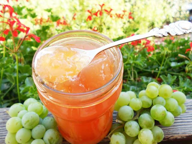 Galaretka z winogron do słoików