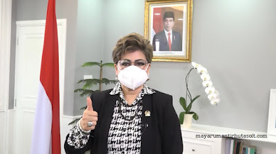 Dr. Maya Rumantir Hutasoit, MA. Ph.D Ajak Masyarakat Jaga Kesehatan