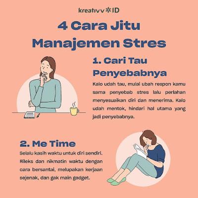 4 Cara Jitu Manajemen Stres