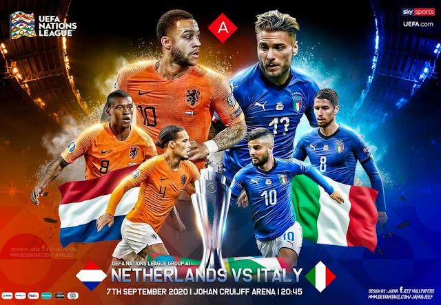 مشاهدة مباراة إيطاليا وهولندا بث مباشر
