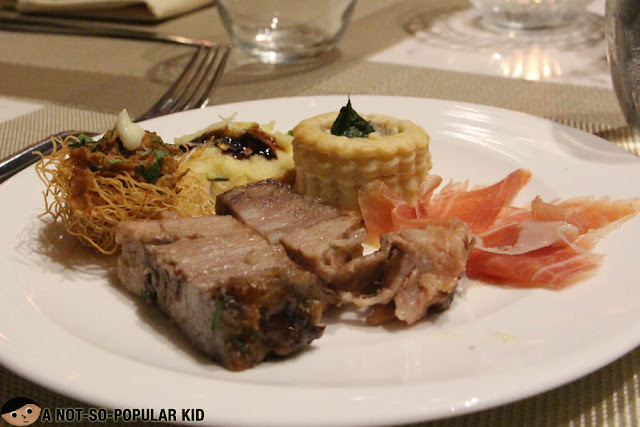 Tapas Buffet in Makati Diamond Residences