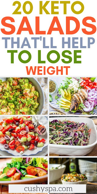 On ketogenic diet and need some keto recipes? Try these fun salad recipes that will help you to burn fat and put yourself into ketosis. #ketodiet #ketorecipes #ketogenicdiet