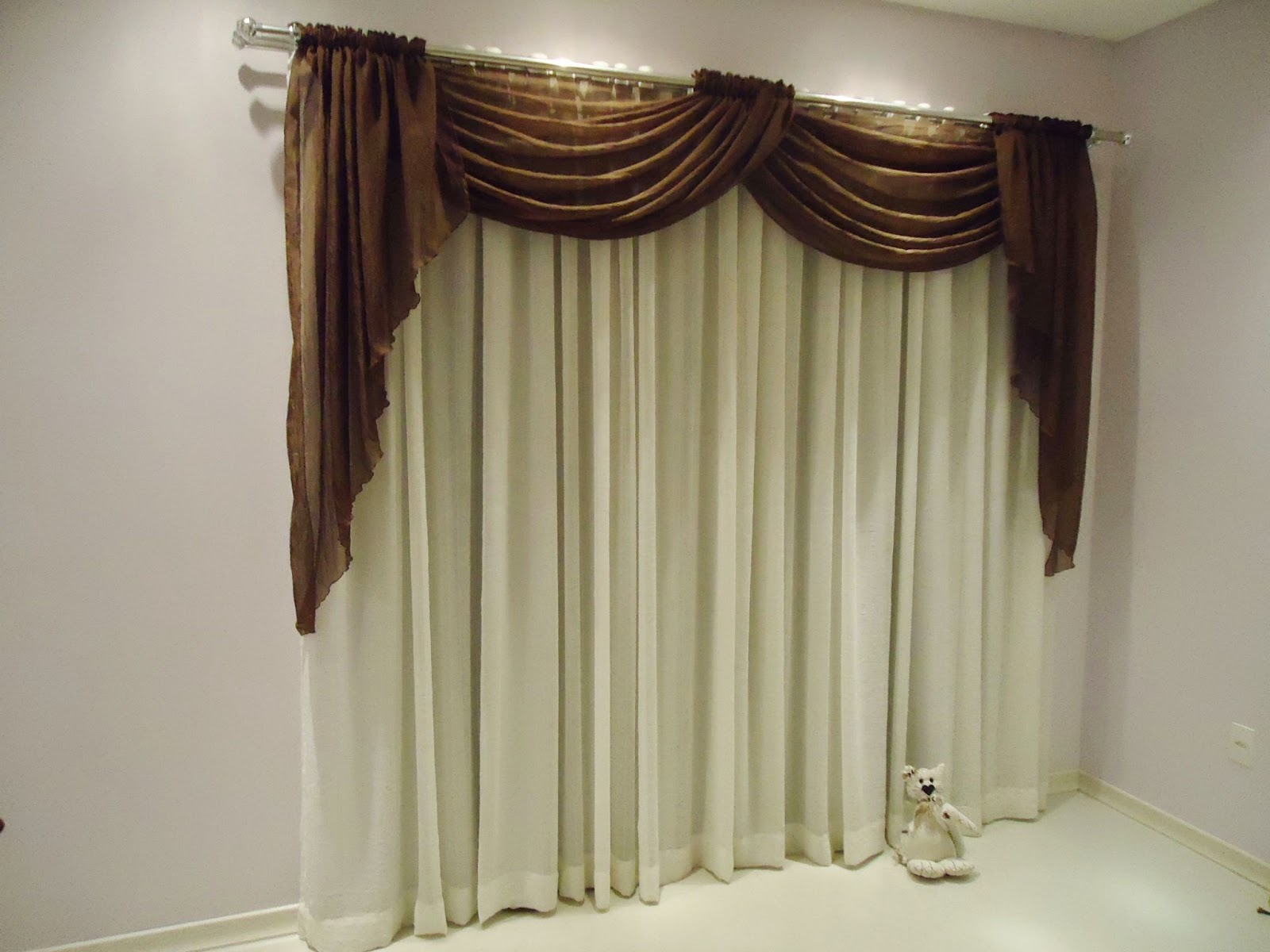 Decora hogar cortinas para salas v deo tendencias en - Modelos de cortinas infantiles ...