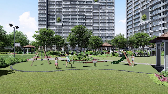 Artist rendition of Sonora Garden Residences Play Area