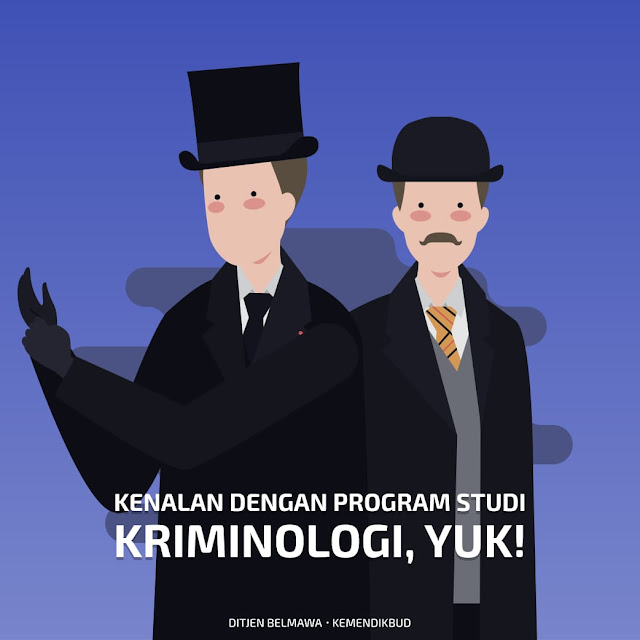 Yok Mengenal Program Studi Kriminologi