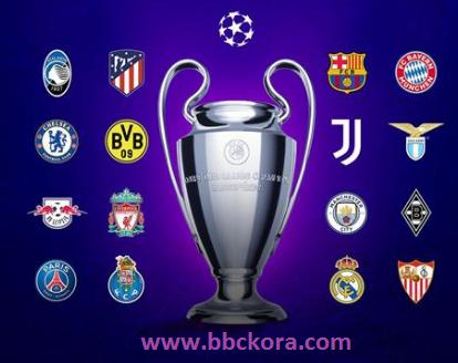 مواعيد المباريات اليوم الثلاثاء والأربعاء 2021 من بطولة دوري أبطال أوروبا