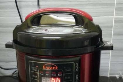 [Review] Pressure Cooker Ewant