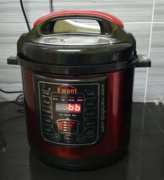 [Review] Pressure Cooker Ewant