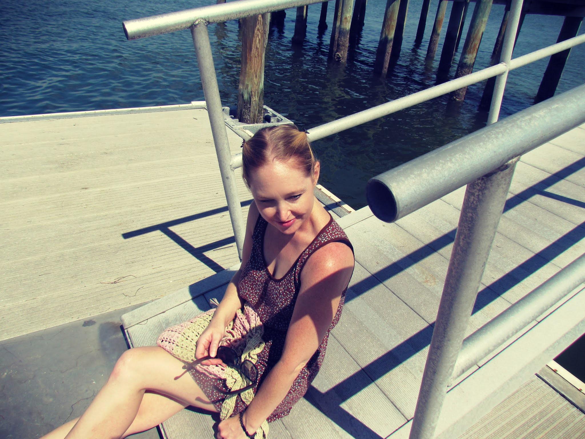Josiah Cephus Weaver Park in Dunedin, Florida Summer at the Pier
