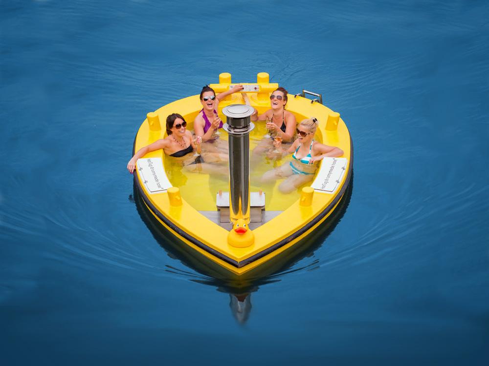 Boat jacuzzi future business ideas