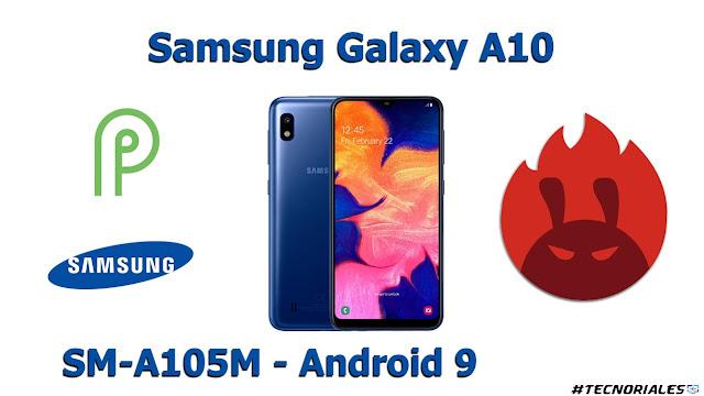 Samsung Galaxy A10 - Android 9 - Antutu benchmark