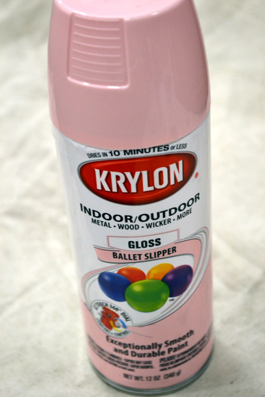 Krylon Spray Paint Ballet Slipper Gloss