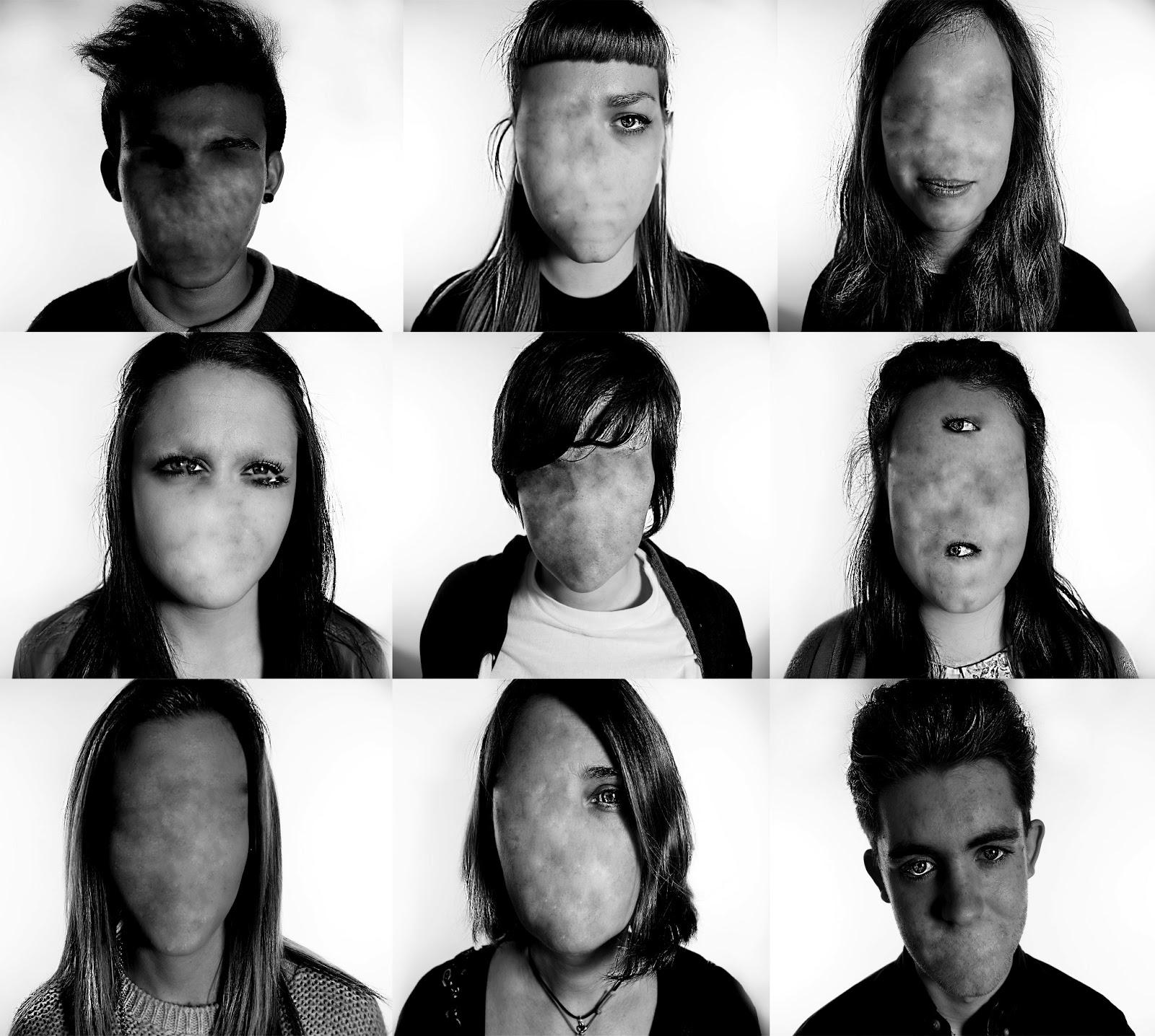 Jordan Germanotta Photography Faceless Portraits face photo manipulation