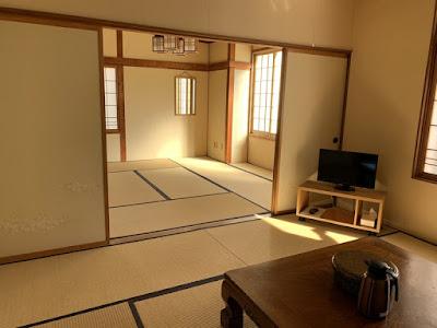 野中温泉 二間客室