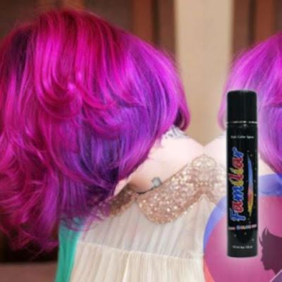 Hình ảnh keo xịt tóc màu familiar pink Lotus leaf ( hồng cánh sen )