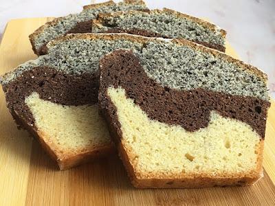Ciasto babka z kakao i makiem