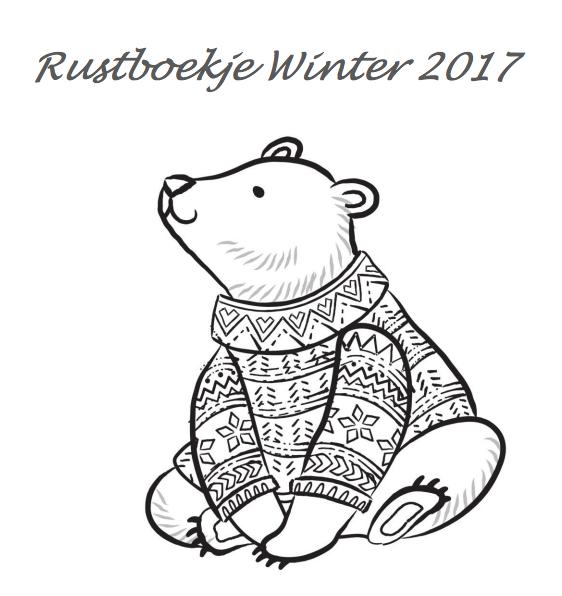 Kleurplaten Rond Winter.Rustboekjes Overblijf Magazine