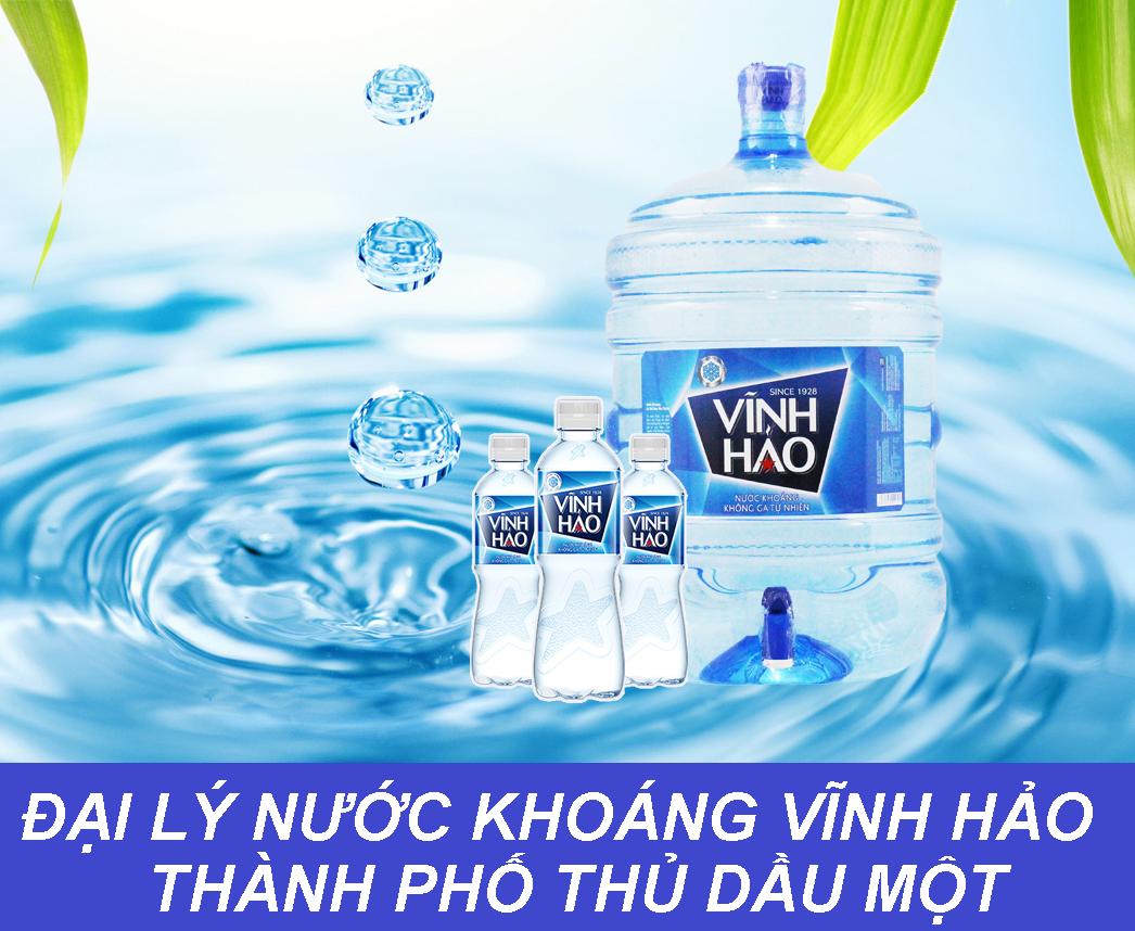 Đại lý nước khoáng Vĩnh Hảo ở tại Thủ Dầu Một, tỉnh Bình Dương- DAI LY NUOC KHOANG THU DAU MOT