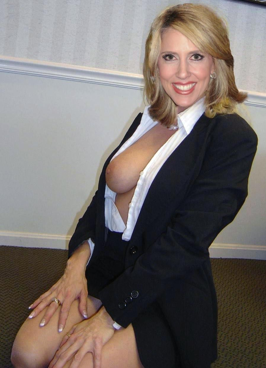 Mature Milf Business Suit 53