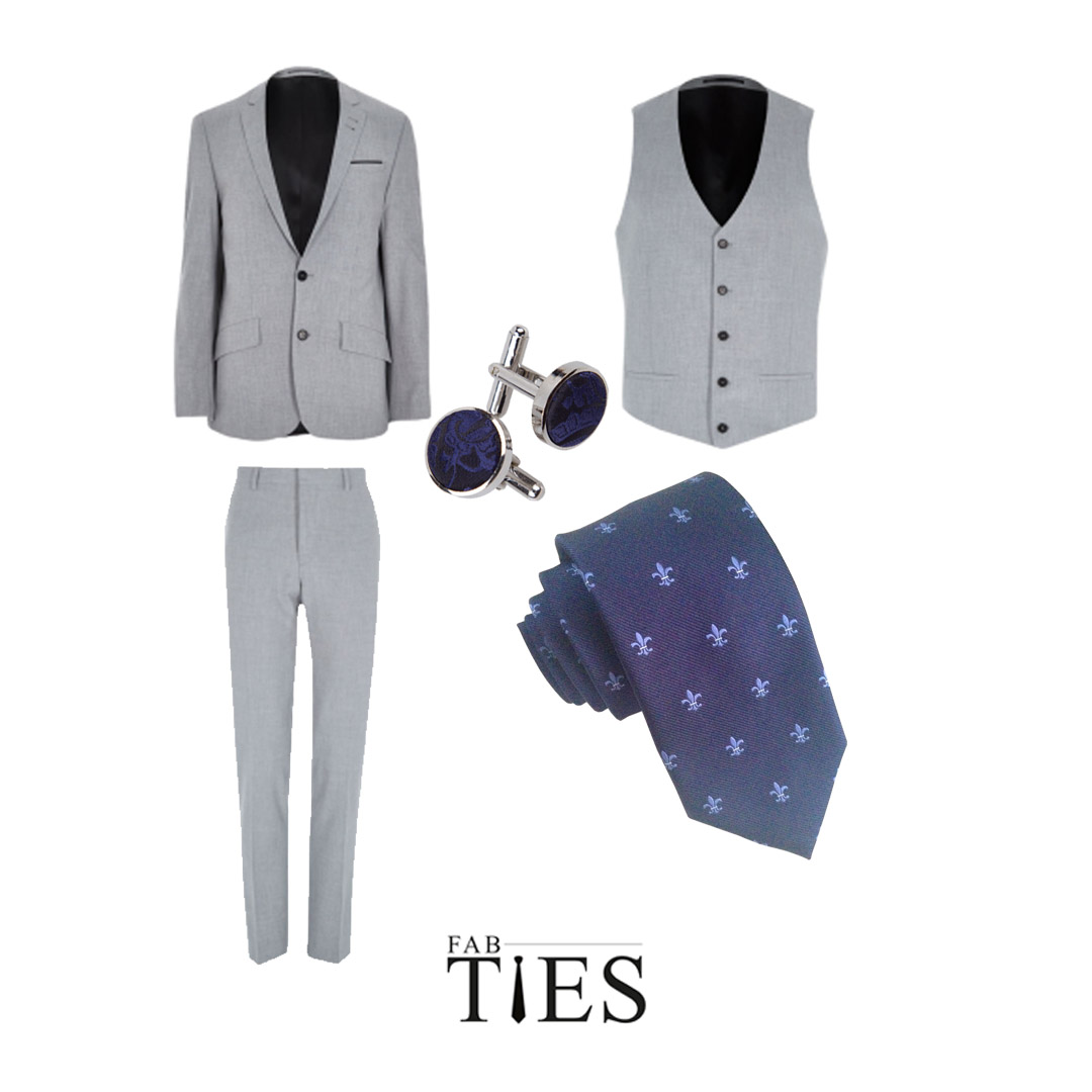 fab ties how to wear cufflinks