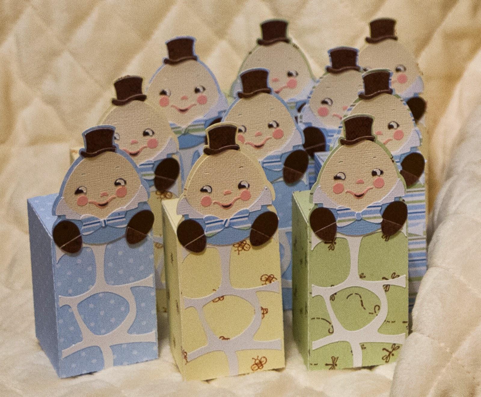 Humpty Dumpty treat boxes