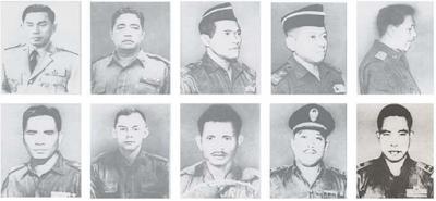 para jenderal korban peristiwa g 30s PKI