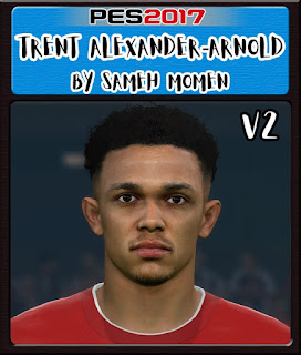 PES 2017 Faces Trent Alexander-Arnold by Sameh Momen