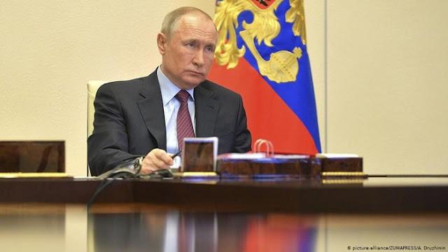 6.400 Kasus Sehari, Putin Ingatkan Rusia Belum Mencapai Puncak Corona