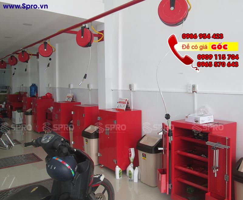 Lắp đặt 7 Tủ đựng đồ nghề 5 ngăn cho head honda Khang Anh - Quận 9