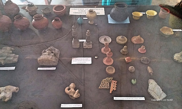 Museum of the Golkonda Fort, Hyderabad