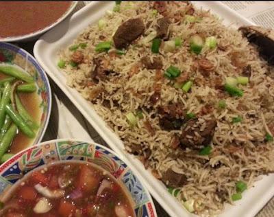 Resepi Nasi Daging Berempah