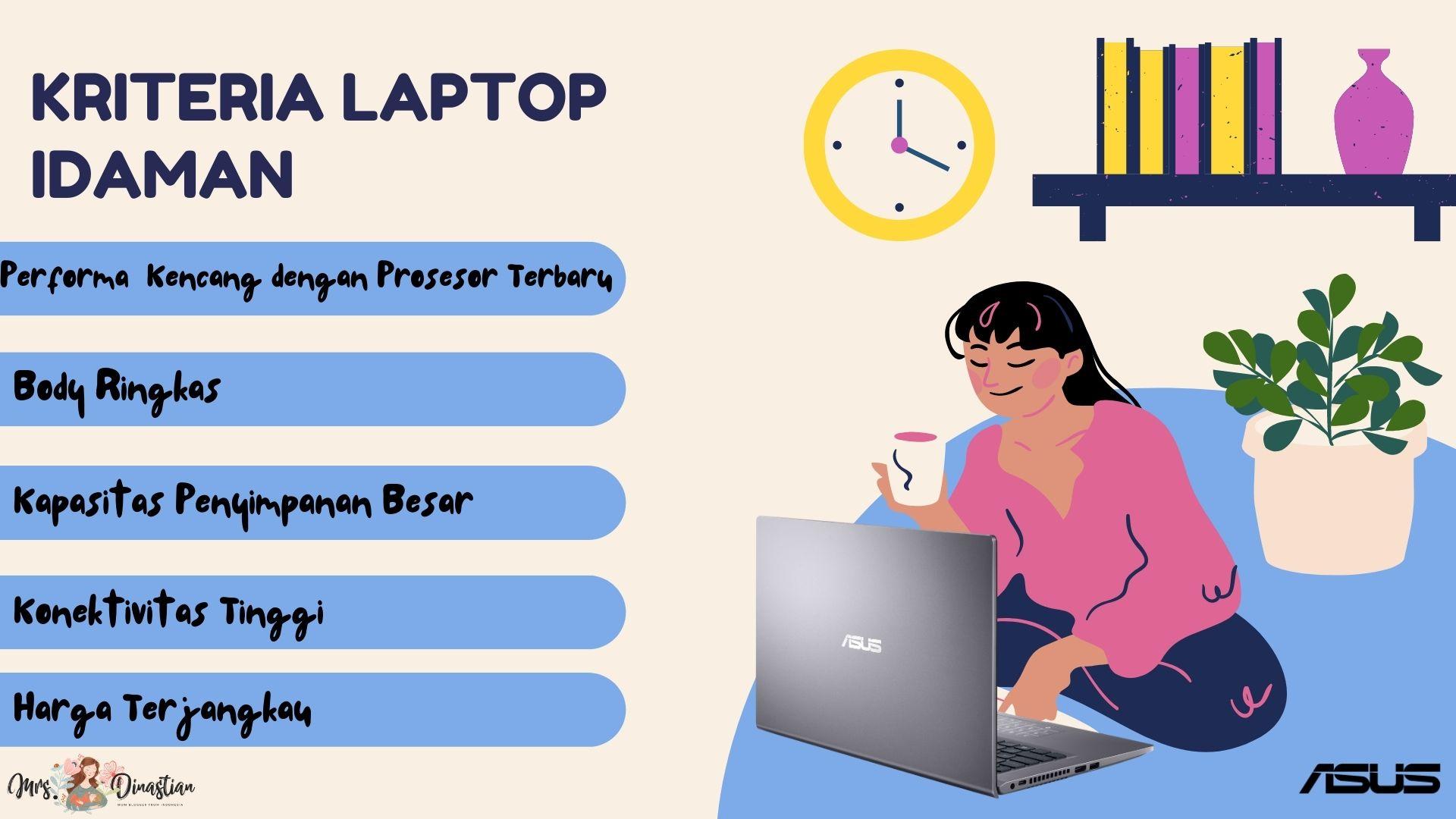 Kriteria Laptop Idaman Untuk WFH